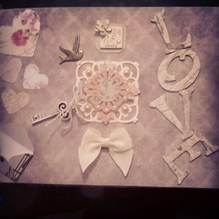 #magical #handmade #bespoke scrapbook full of secret pockets & hidden messages based on theme of love & wishes