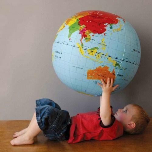 #limetreekids Blow up world globe