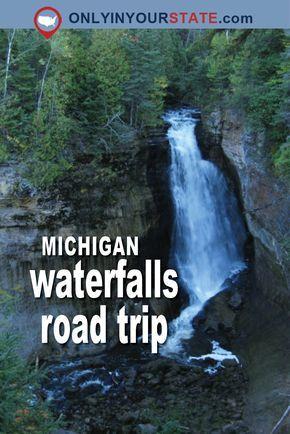 Travel | Michigan | Waterfalls | Road Trip | Sight Seeing | Day Trip | Adventure