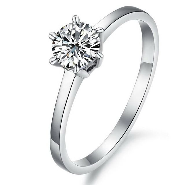 Кристалл обручальные кольца для женщин мода стиль ...