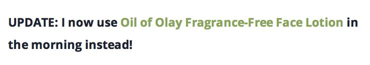 oil of olay fragrance-free lotion