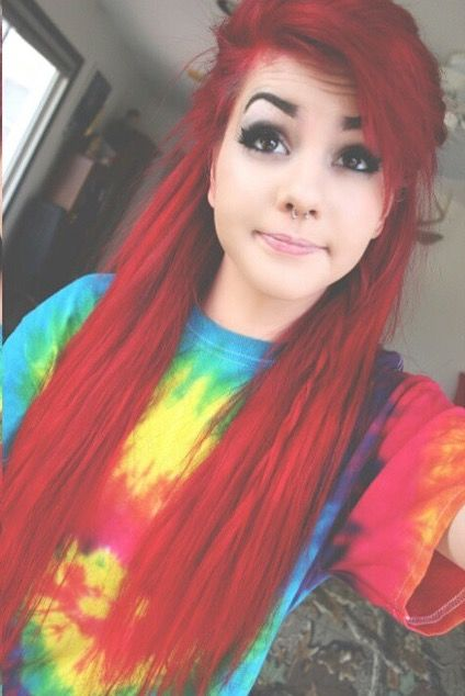 Gahhh I can't wait to do my hair red