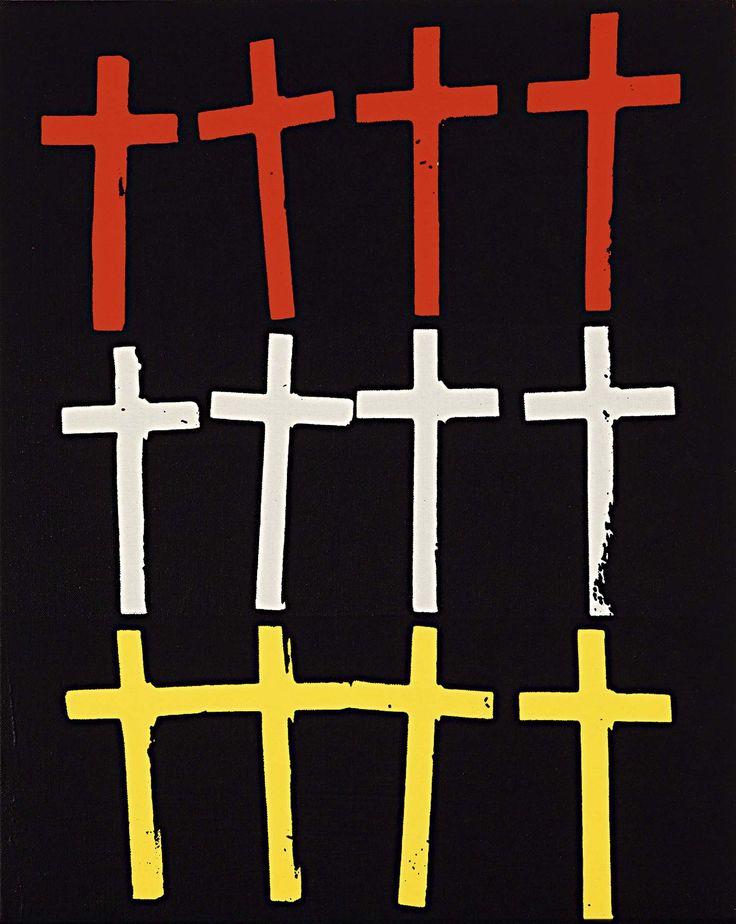 "Andy Warhol, ""Crosses"",1981-1982"