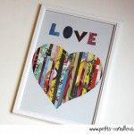 Un tableau plein d'amour [diy]