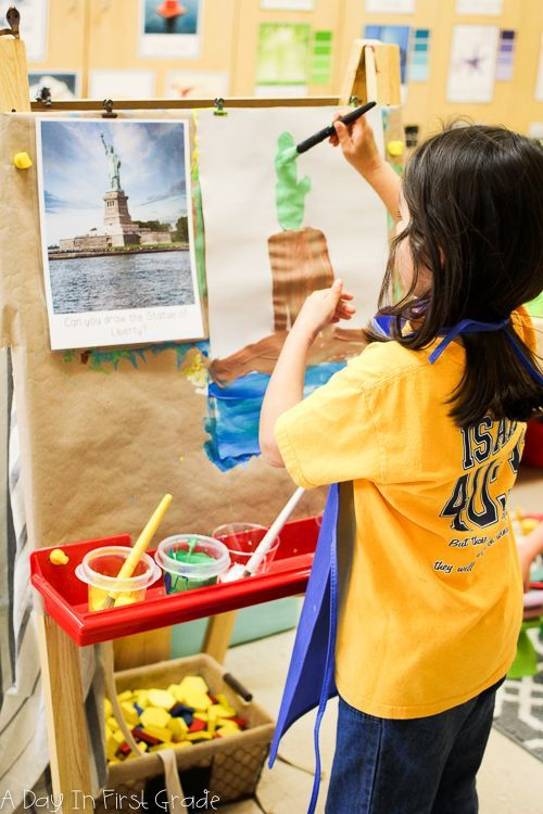 """Incorporating Reggio methods in a """"traditional"""" school setting  from @adayinfirstgrade"""