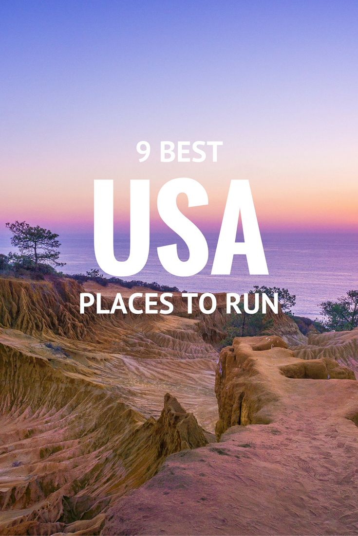 9 Best Places to Run in the USA | Running USA | Great Running Routes | Best American Cities to Run In | Run USA