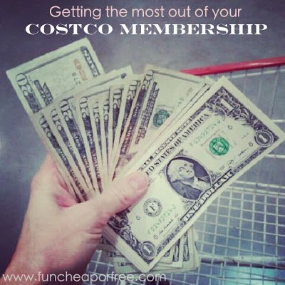 How to get the most out of your Costco membership from funcheaporfree.com. Tips include: what to buy/what to avoid from Costco, how to stretch your dollar, fitting 'buying bulk' into your tight budget, & tips you may not know about the Cash Rewards at Costco! #costco #shopping #budget #food #groceries #funcheaporfree