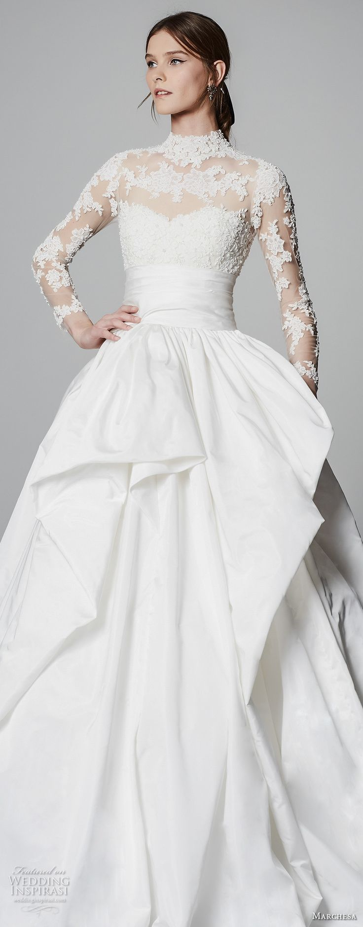 Lady edith wedding dress 2018 with lace