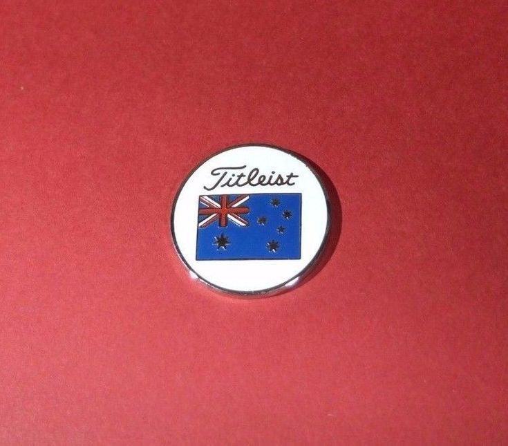 Titleist Ball Marker Pro V1 Australia Flag Japan Limited
