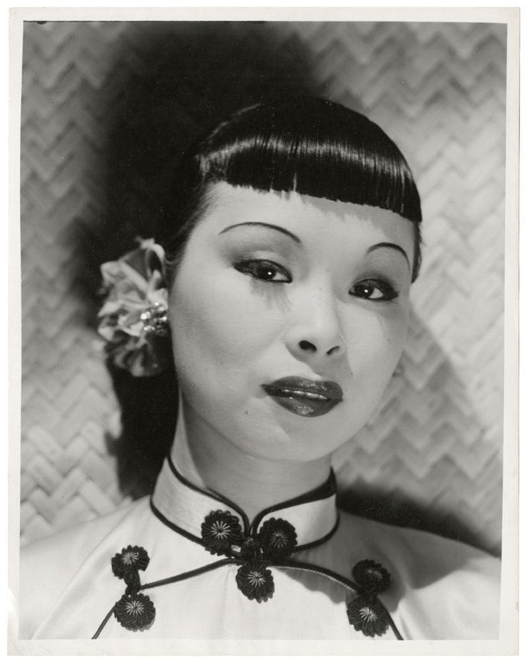 1940s Jessie Tai Sing Rare Chinese Burlesque Dancer