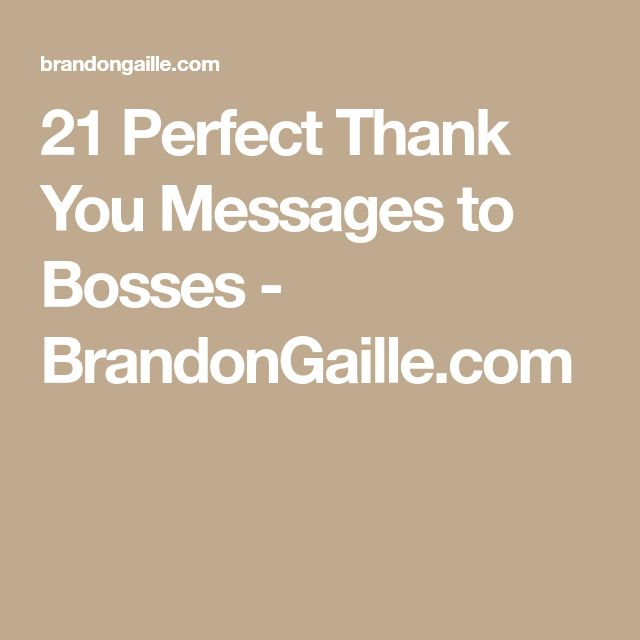 The 25+ best Appreciation message to boss ideas on Pinterest - thank you note to boss