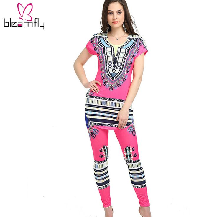 African Dashiki Dresses For Women Dashiki Dress Summer Maxi Long Two Piece Shirt Dress Sexy Robe longue femme ete vestidos