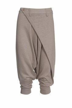 Schnittmuster: Haremshose - asymmetrisch - Sarouelhosen - Hosen - Damen - burda style
