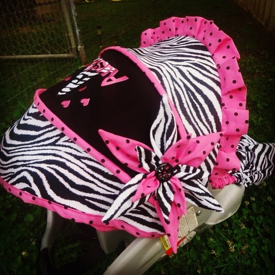 Custom Infant Carseat Set Made By Stitch A Bility By
