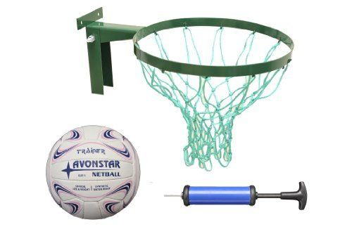 Spring Deal Package! Strong Netball Hoop INCLUDES size 5 netball (Robust Ring made in Britain) & 2 Years Warranty Buy this and qualify for free pump. by Avonstar Trading, http://www.amazon.co.uk/dp/B00CSRKZDU/ref=cm_sw_r_pi_dp_JSettb1C3DYH1
