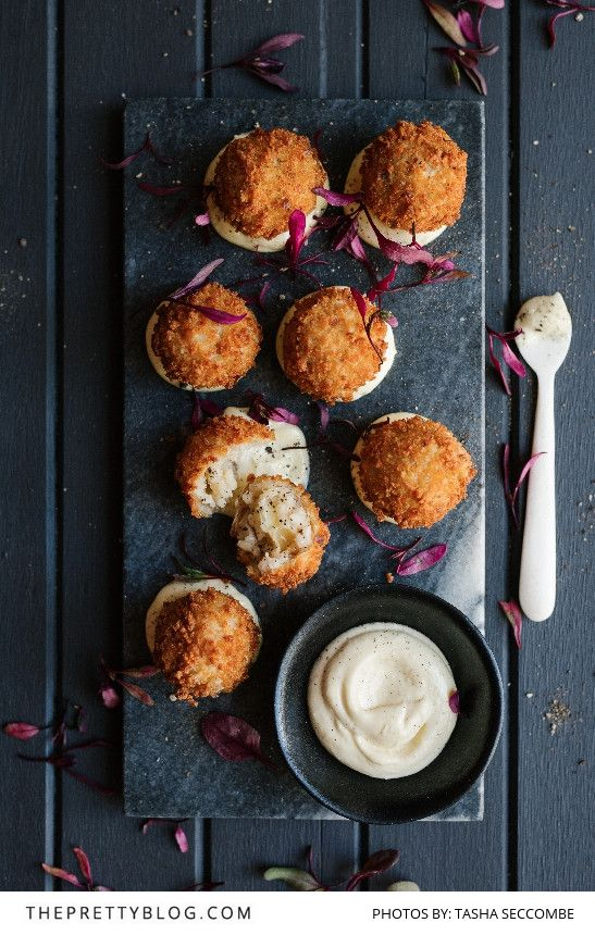 The perfect canapé recipe for your festive dinner - These little golden nuggets are just delightful