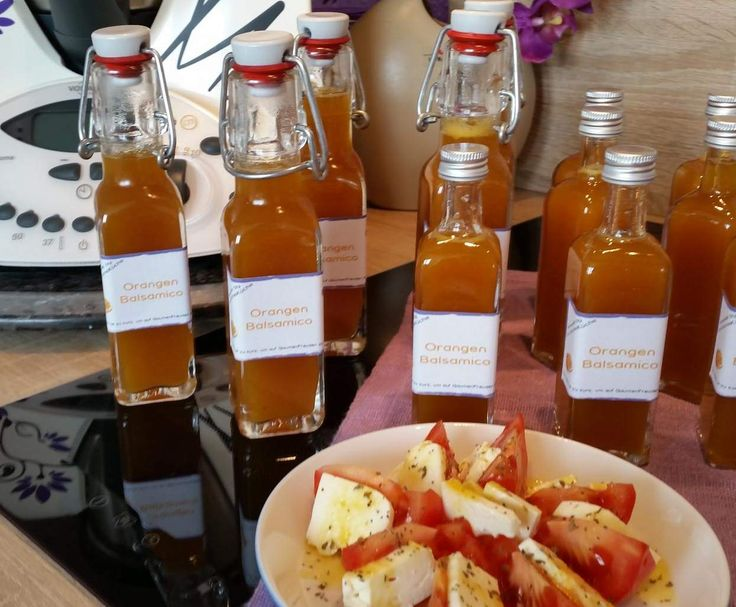 Rezept Orangen - Balsamico Rezept d. Tages v. 12.02.2016 von Iris' LilaLauneKüche - Rezept der Kategorie Vorspeisen/Salate