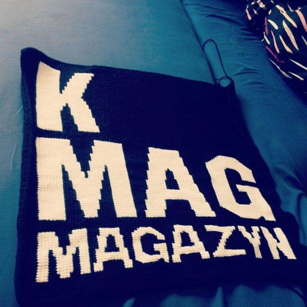 K MAG - Logo dla Mikołaja Komara