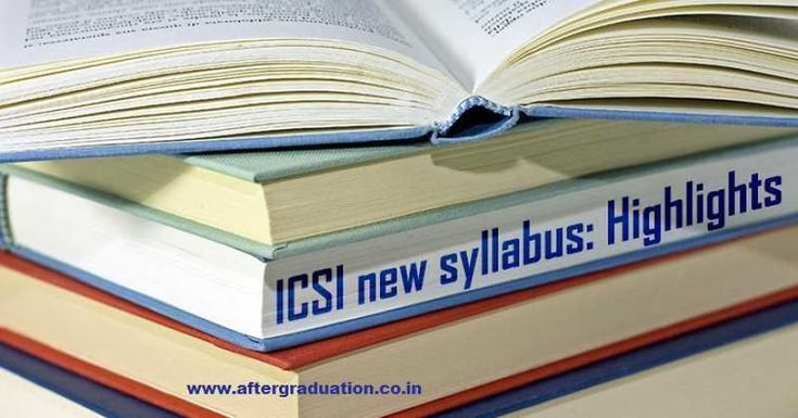 Icsi Introduced Cs New Syllabus For Executive And Professional Programmes