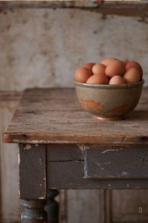Fresh Eggs, Farms House, Sunday Mornings, Farmhouse Style, Farmhouse Kitchens, Farmhouse Tables, Country Life, Farms Tables, French Home