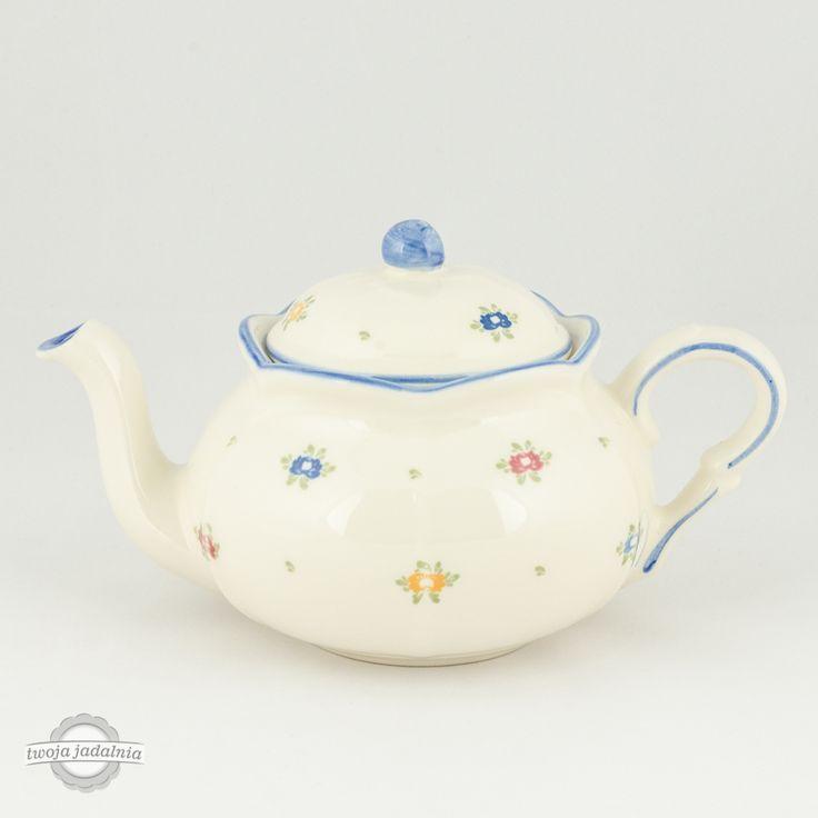 """W czym podamy dziś herbatę? Dzbanuszek z kolekcji """"Petite Rose"""" od Zeller Keramik."""