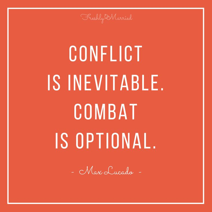 conflict in marriage, how to handle conflict in marriage, respect in marriage conflict is inevitable combat is optional