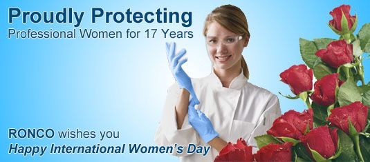 Happy International Women's Day from RONCO Canada!
