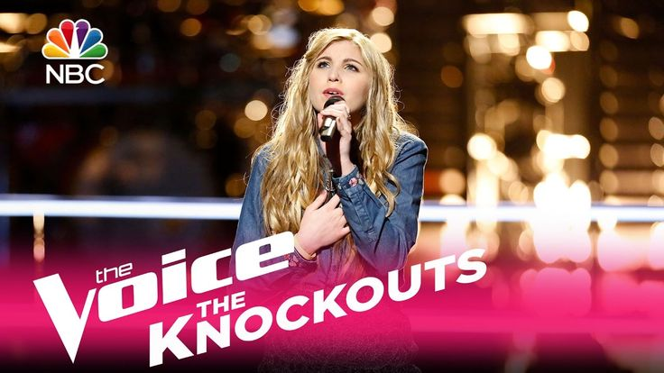 """The Voice 2017 Knockouts - Brennley Brown: """"Up to the Mountain"""""""