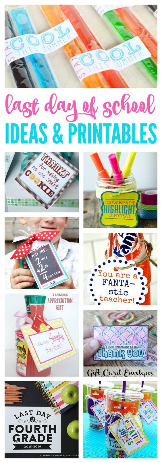 last day of school ideas printables for kids