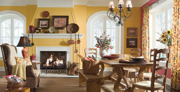 This Yellow Sets The Tone For Fun Times With Family And