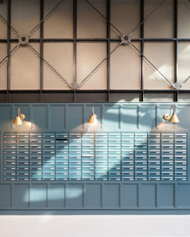 Building of the student residence &qout;The Chapter&qout; in London, UK, is near England's oldest railway stations of King's Cross and St Pancras. That is why Tigg + Coll Architects produced a dormitory reconstruction, focusing on the railway past of the area. The lobby resembles a train station arrival hall,…