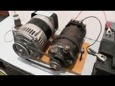 3 phase auto starter wiring diagram electric generator self running youtube free energy  electric generator self running youtube free energy