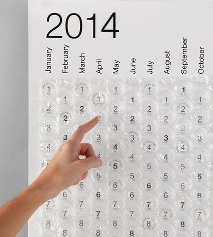 Bubble Calendar via Loja Capitão Lisboa. Click on the image to see more!