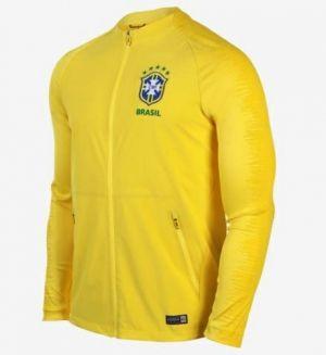 2018 World Cup Brazil Home Replica Anthem Jacket  BFC932   94f465c5d