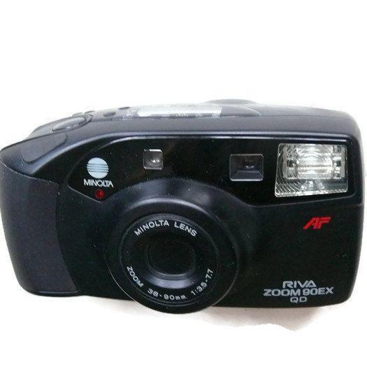 Minolta Riva Zoom 90EX QD, Vintage Camera, 35mm Camera, Minolta Camera, 35mm Film Camera, Vintage Minolta, Point And Shoot Camera by HarmlessBananasTribe on Etsy
