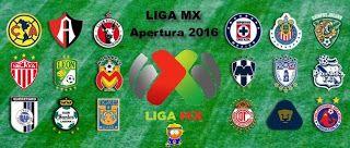Blog de palma2mex : LIGA MX Torneo Apertura 2016 Juegos y Resultados