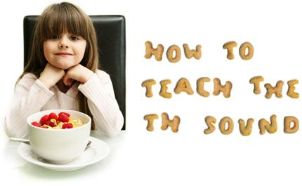 TH Sound- this short, one-page informative passage gives perfectly easy and sensible ways to teach a small child how to make this sound with their mouth and how to practice it. It is written by a speech language pathologist.