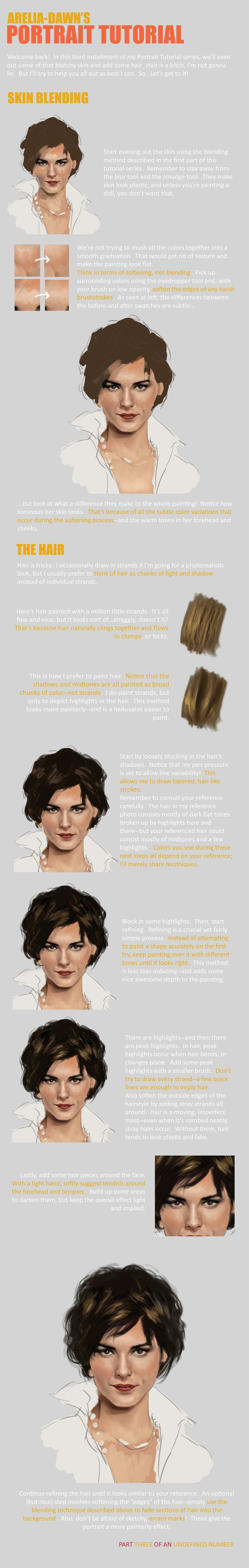 Portrait Tutorial, Part Three by ~arelia-dawn on deviantART ✤ || CHARACTER DESIGN REFERENCES | キャラクターデザイン | çizgi film • Find more at https://www.facebook.com/CharacterDesignReferences & http://www.pinterest.com/characterdesigh if you're looking for: #color #theory #contrast #animation #how #to #draw #paint #drawing #tutorial #lesson #balance #sketch #colors #painting #process #line #art #comics #tips #cartoon || ✤