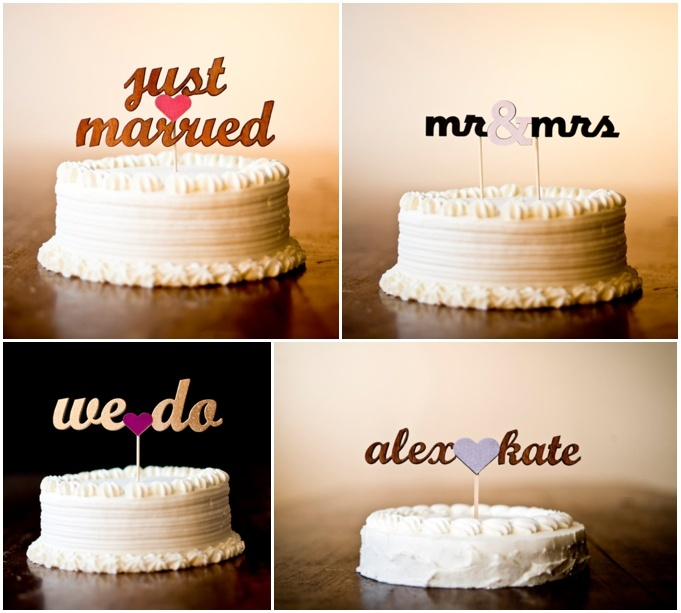 •OBSESSED with these caketoppers... Etsy Weddings blogpost on our blog arianderik.com•