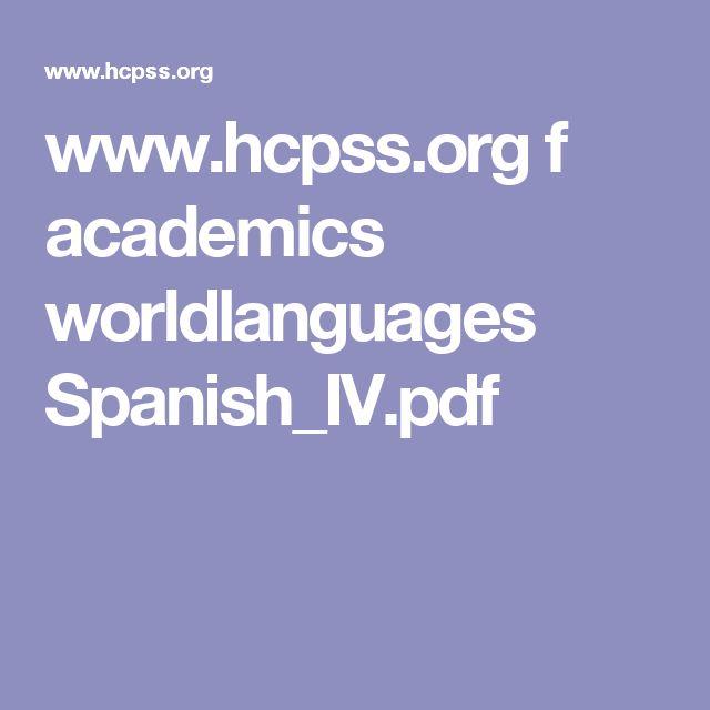 www.hcpss.org f academics worldlanguages Spanish_IV.pdf