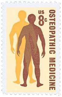 1972 8c Osteopathic Medicine Scott 1469 Mint F/VF NH