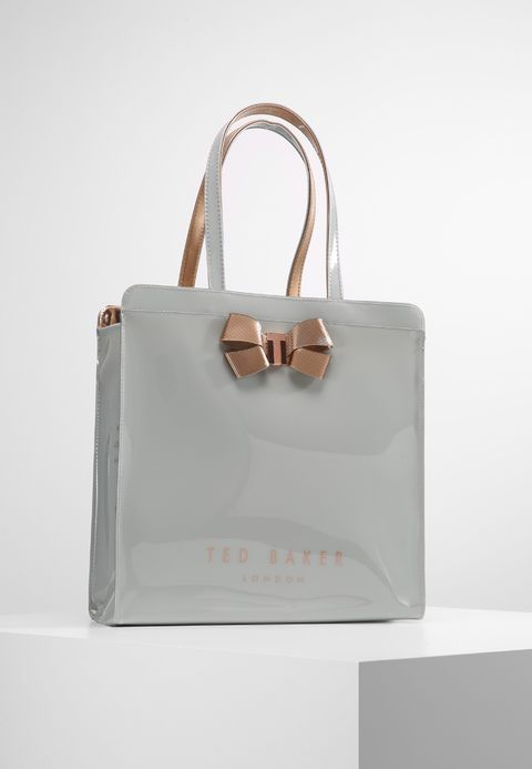 a29daeeeaf85 Ted Baker VALLCON BOW DETAIL LARGE ICON BAG - Shopping Bag - mid-grey für  49