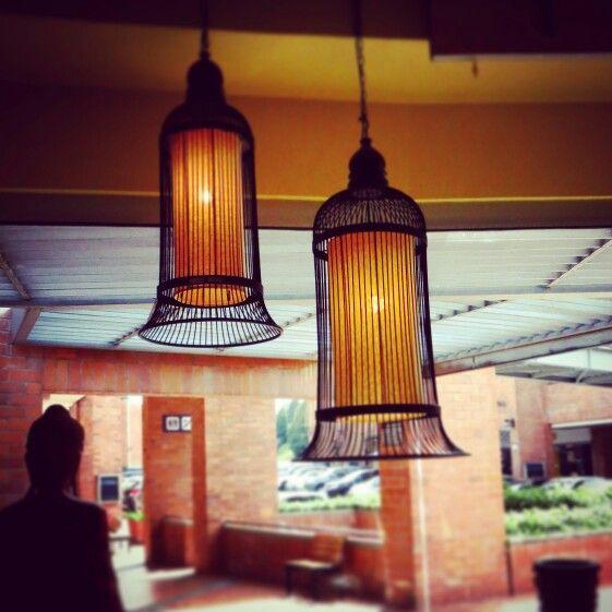 10 best images about lamparas on pinterest mesas tejido - Lamparas las palmas ...