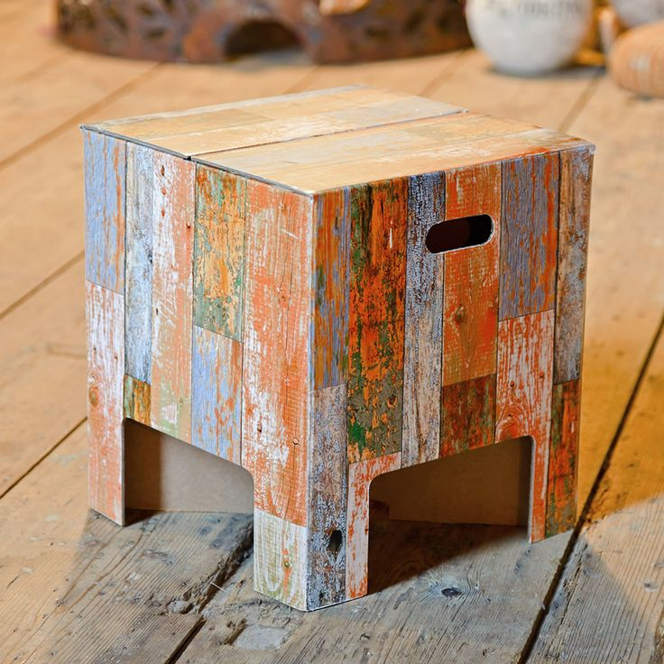 Cardboard stool from Karton!!