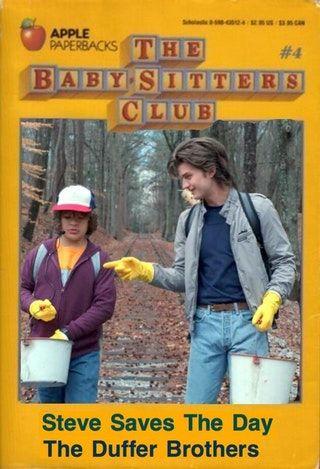 Steve Harrington - Babysitter : StrangerThings