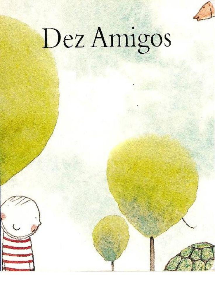 Livro: Dez amigos by Isa ... via slideshare