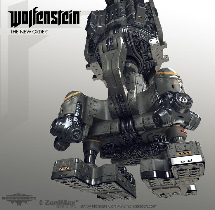 Wolfenstein: The Art Dump - Polycount Forum