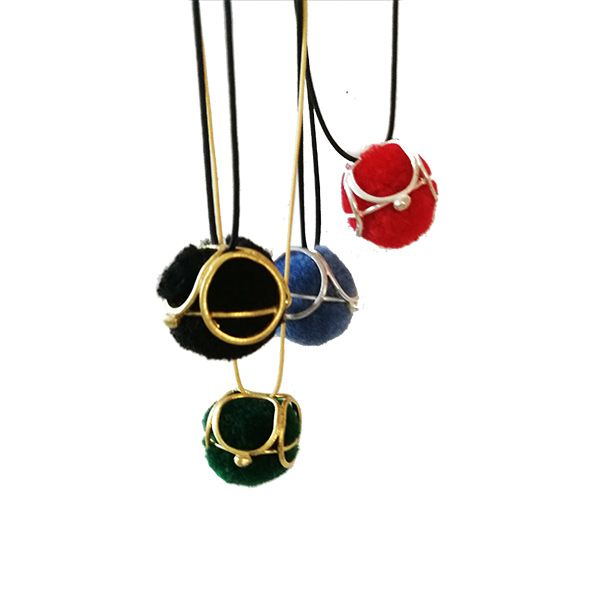© copyright 2015-2017 Athenart jewelry ~ All my designs are protected by the law  Pom Pom pendants- Playfull , colorfull and puffy! Girly pendants for all day!! choose your colors