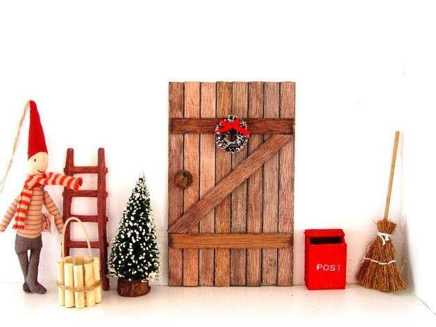Deko und Accessoires für Weihnachten: dänisches Wichteltür - Set made by Harry und Sally - Wohn- und Geschenkideen via DaWanda.com