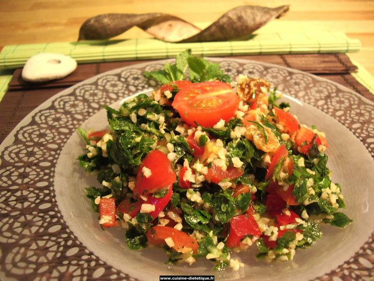 Brazilian Cuisine | Tabouli is another fixture at salad bars